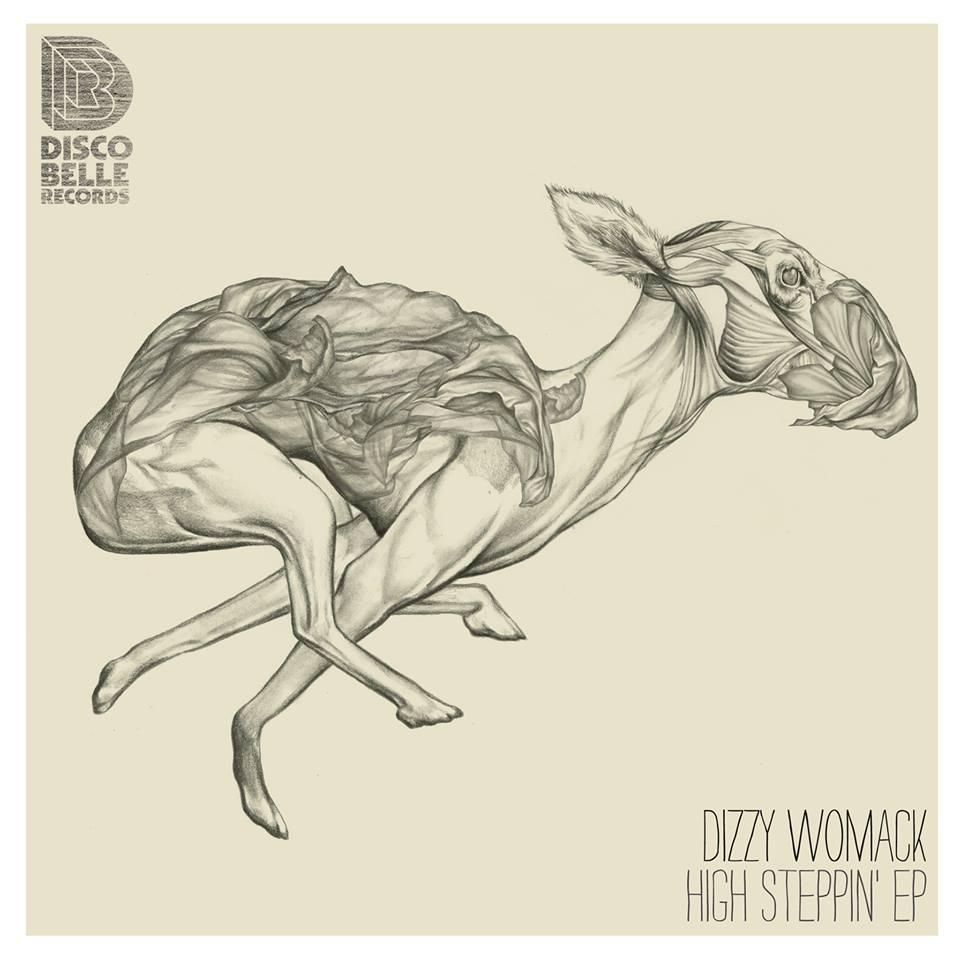 Julia Szulc Illustration. Album cover Dizzy Womack High Steppin