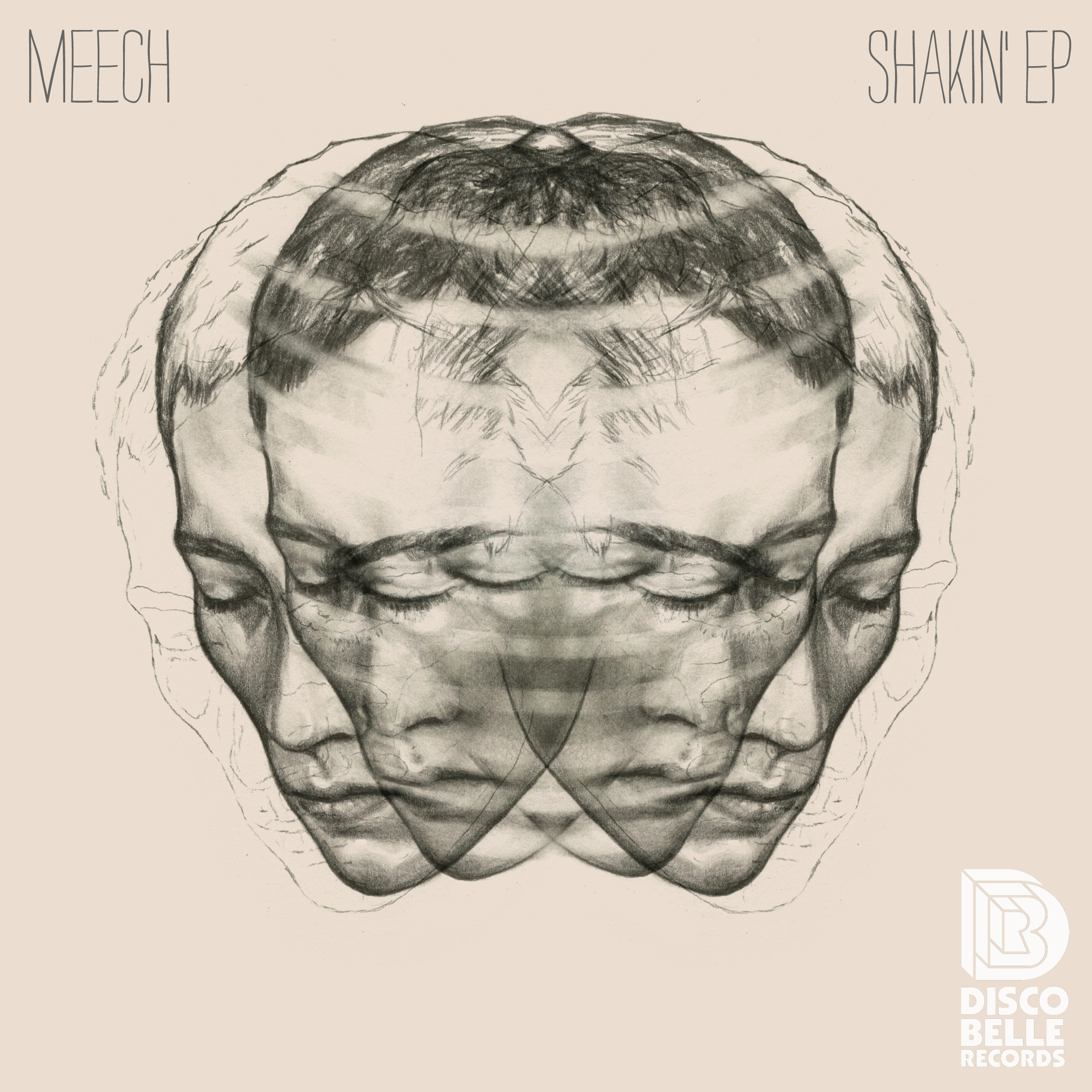 Julia Szulc Illustration. Album cover Meech.